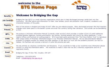 Bridging The Gap - Sample Document to Website conversion