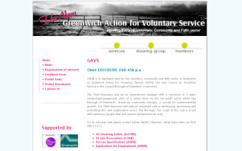 Greenwich Action for Voluntary Service (GAVS)