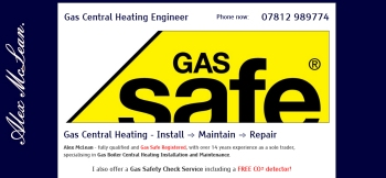 Alex McLean Kent Gas Central Heating Engineer