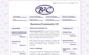 Photo: A new website for Business2Community
