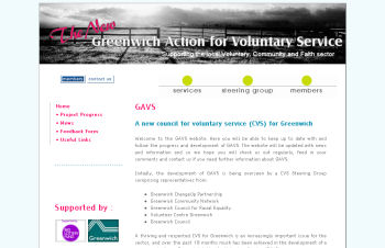 GAVS - Greenwich Action for Voluntary Service