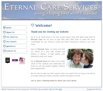 Eternal Care new web site