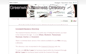 Photo: Greenwich Business Directory new look!