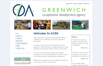 Photo: A new web site for GCDA