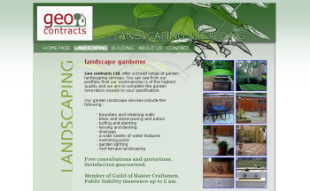 Photo: Geo contracts Ltd. re-coded for organic SEO