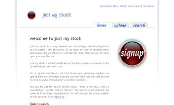 Photo: just my stock - A new plumbing parts search engine