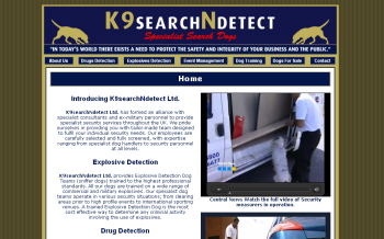 Just organic SEO for K9SearchNdetect