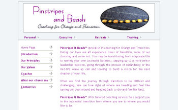 Pinstripes & Beads