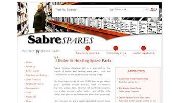 Photo: Sabre Systems bespoke eCommerce shopping cart
